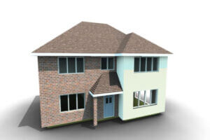 3D model of BuildingWorks new build