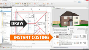 BuildingWorks: instant costs for drawing plans